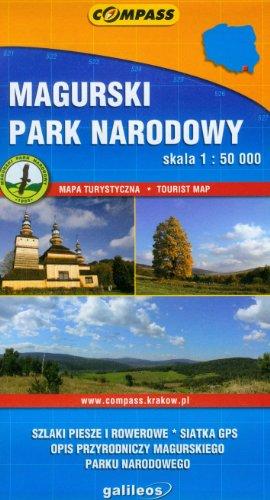 Magurski Park Narodowy. Mapa turystyczna. 1:50 000