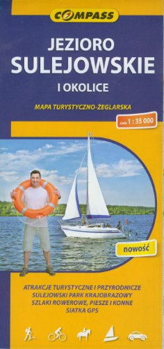 Jezioro Sulejowskie i okolice. Mapa turystyczno-zeglarska. 1:35
