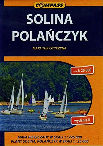 Solina Polanczyk Bieszczady. Mapa turystyczna. 1 :