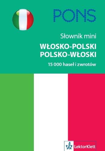 Slownik mini wlosko-polski, polsko-wloski