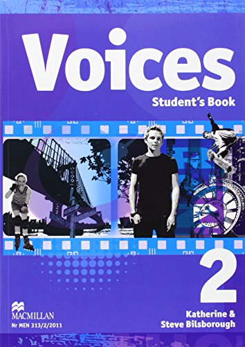 9788376210384: Voices 2 Student's Book + CD