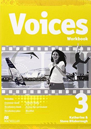 9788376210469: Voices 3 Workbook + CD