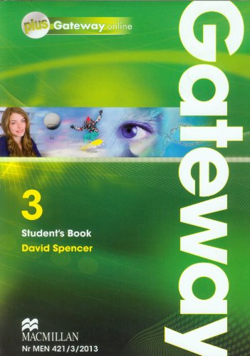 9788376211350: Gateway 3 Students Book plus Gateway online