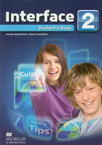 9788376211893: Interface 2 Student's Book z plyta CD