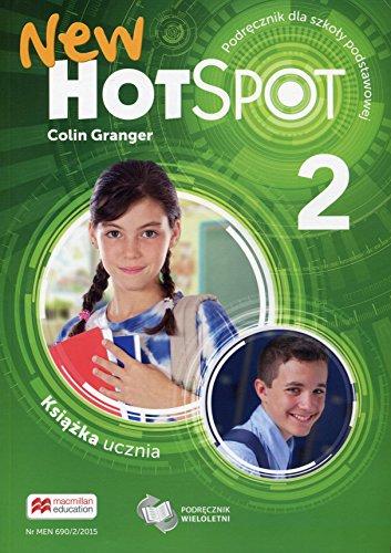 9788376212739: New Hot Spot 2 Ksiazka ucznia Podrecznik wieloletni