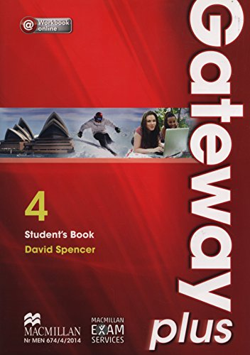 9788376213187: Gateway Plus 4 B2 Student's Book + Workbook online