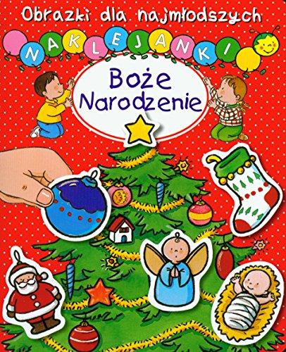 9788376264226: Boze Narodzenie Obrazki dla najmlodszych Naklejanki