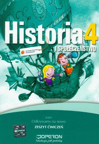 9788376805078: Historia i spoleczenstwo 4 Zeszyt cwiczen