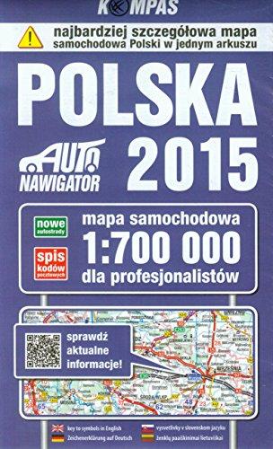 Polska 2015. Mapa samochodowa dla profesjonalistow. 1