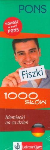 9788377154274: Pons Fiszki 1000 slow Niemiecki na co dzien