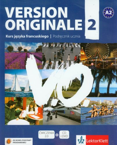 9788377154403: Version Originale 2 Podrecznik + CD + DVD A2