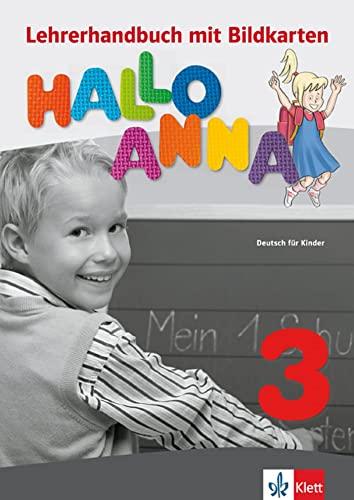 9788377155417: HALLO ANNA 3 PROFESOR+CD-ROM