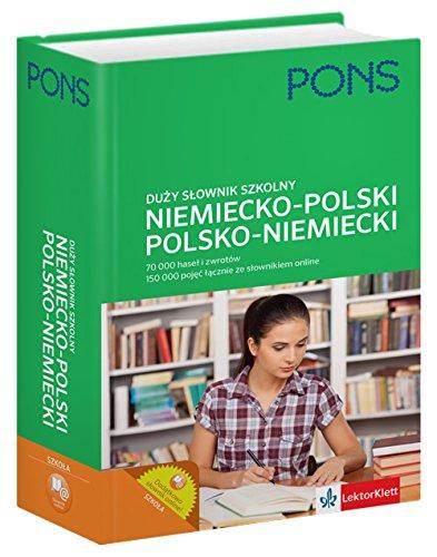 9788377156384: Slownik duzy szkolny niemiecko-polski, polsko-niemiecki. 70 000 hasel i zwrotow