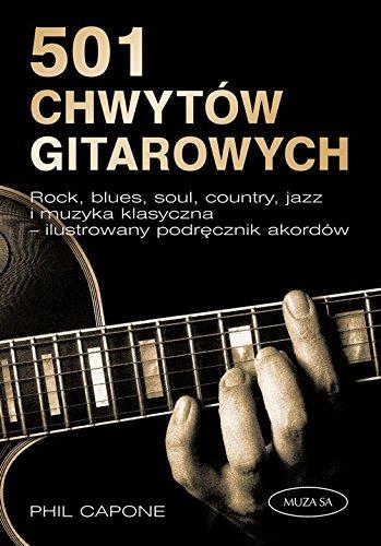 9788377580530: 501 chwytów gitarowych (Polska wersja jezykowa)