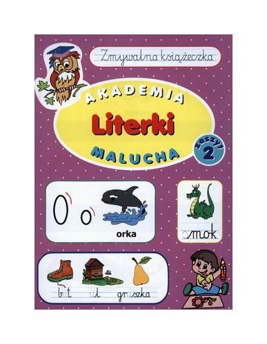 9788377705780: Literki. Zmywalna ksiazeczka. Zeszyt 2. Akademia malucha (polish)