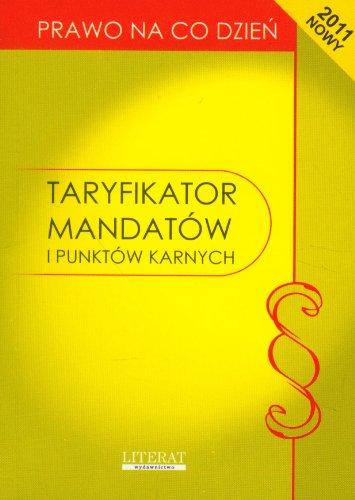 9788377740071: Taryfikator mandatów i punktów karnych