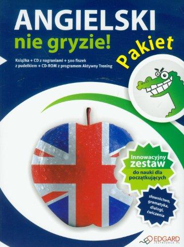 9788377881484: Angielski nie gryzie Pakiet + CD: dla poczatkujacych
