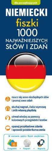 9788377881897: Niemiecki fiszki 1000 najwazniejszych slów i zdan + CD