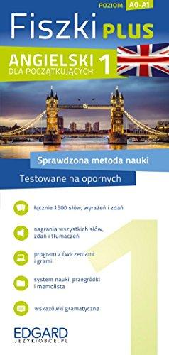9788377884294: Angielski Fiszki PLUS dla poczatkujacych 1