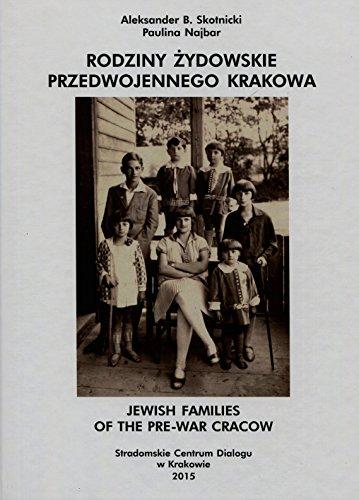 9788378643210: Rodziny zydowskie przedwojennego Krakowa