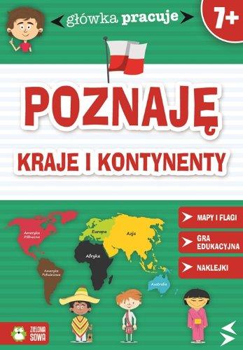 9788378957102: Glówka pracuje Poznaje kraje i kontynenty