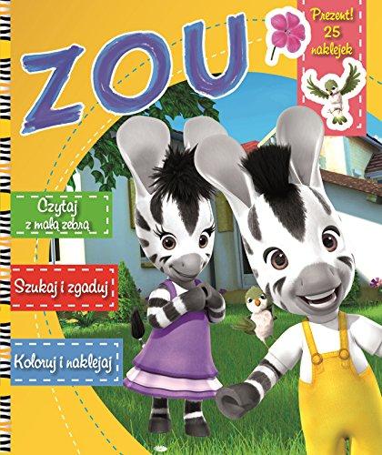 9788379455508: Zou Czytaj z mala zebra, szukaj i zgaduj