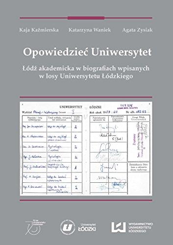 9788379698943: Opowiedziec Uniwersytet