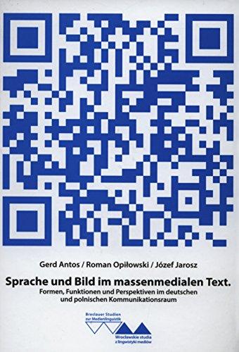 9788379770434: Sprache und Bild im massenmedialen Text