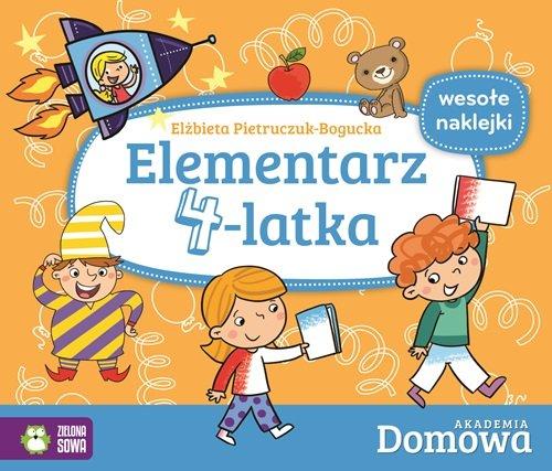 9788379837304: Elementarz 4-latka Domowa Akademia