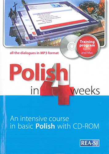 9788379930555: Polish in 4 weeks with CD-ROM