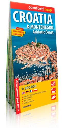 9788380460256: Croatia and Montenegro and Adriatic Coast 2016: EXP.141