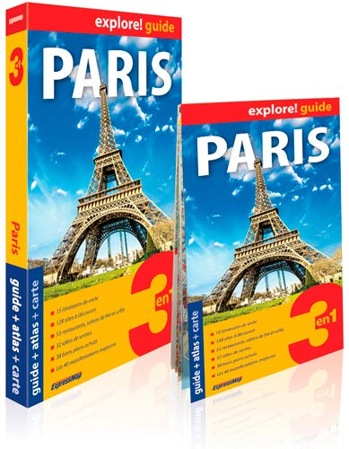 PARIS 2 EN 1 GUIDE ATLAS CARTE: EXPLORE GUIDE