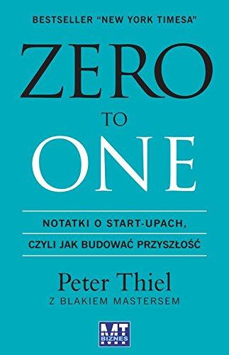 9788380871182: Zero to one