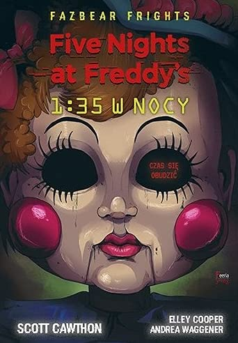 9788382250329: Five Nights At Freddy's 1:35 w nocy
