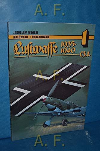 Luftwaffe 1935-1945 C3.I. - Malowanie I Oznakowanie: Jarski, Adam &
