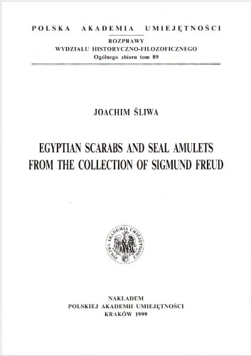 9788386956500: Egyptian Scarabs and Seal Amulets From the Collection of Sigmund Freud