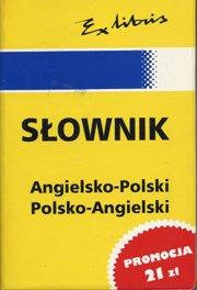 Handy Dictionary (Slownik) Enlish/Polish, Polish/English (Ex Libris: Jan J. Kaluza
