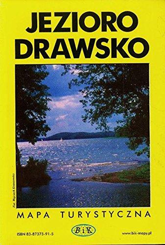 Jezioro Drawsko, mapa turystyczna