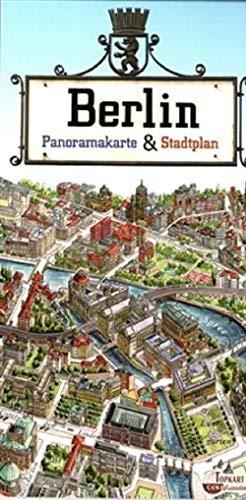 9788387442873: Berlin, Panoramakarte & Stadtplan. Berlin, Panoramic Map & Street Plan