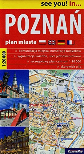 9788388112348: Poznan plan miasta 1:20 000