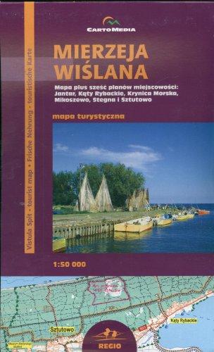9788388201639: Mierzeja Wislana Mapa turystyczna