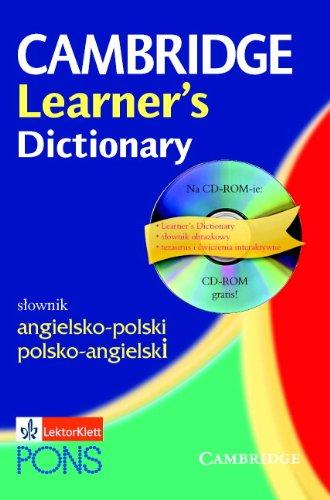 9788388894619: Cambridge Learner's Dictionary English-Polish: Angielsko-Polski (English and Polish Edition)