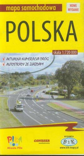 Polska. Mapa samochodowa. 1:720000, BiK