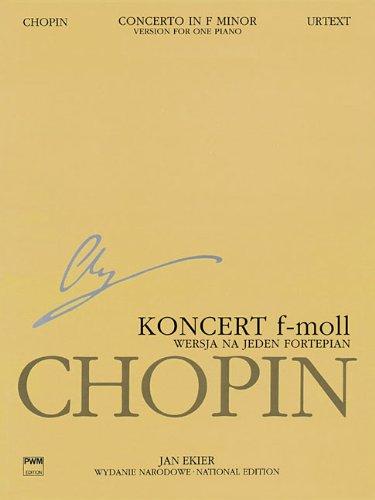 Concerto in F Minor Op. 21: Version for One Piano: Jan Ekier and Pawel Kaminski
