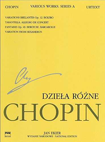 Various Works for Piano, Series A: Chopin