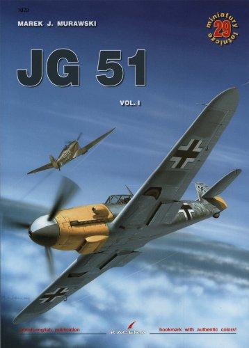 9788389088390: JG 51 Volume 1 Air Miniatures No. 1029
