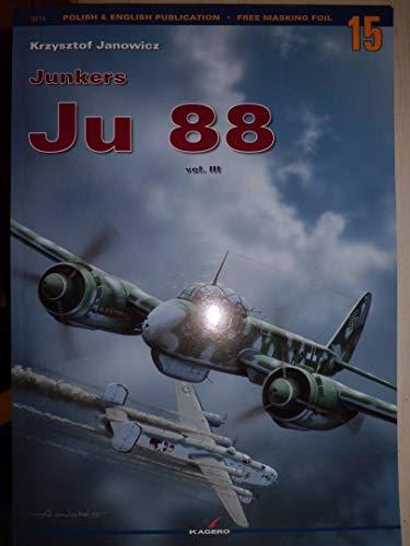 9788389088970: Monographs No. 15 - Junkers Ju-88 Vol. III