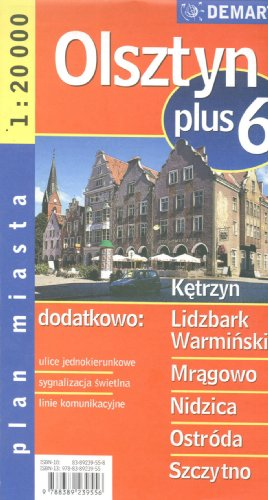 Poland City Map Olsztyn + 6 Other