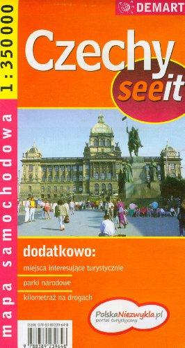 Czechy. Mapa samochodowa.1:350000 Demart