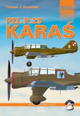 9788389450036: PZL P23 Karas